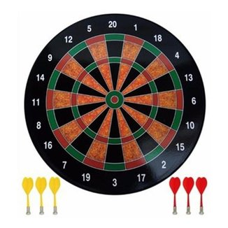 Jogo Dardos Profissional 34,5 Cm Alvo Tabuleiro Magnético