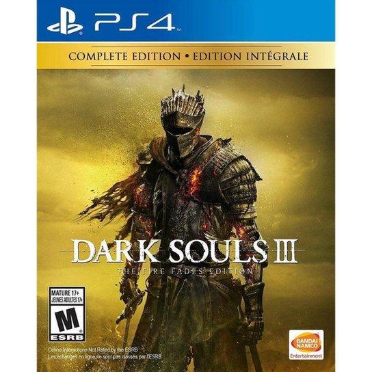 Jogo Dark Souls III The Fire Fade Edition  Ps4 - Incolor