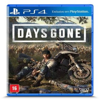 Jogo Days Gone - PS4 .