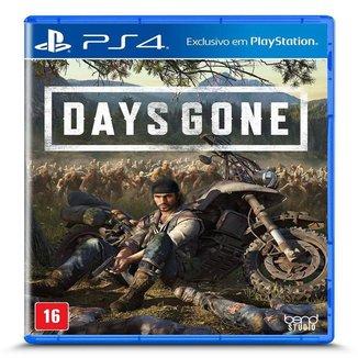 Jogo Days Gone - PS4 .