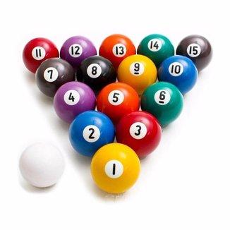 Jogo de Bolas Numeradas Dinâmica Diversões
