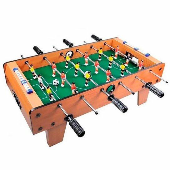 Jogo de Futebol de Mesa Pebolim Totó Grande - Única