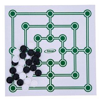 Jogo de Tabuleiro Trilha Xalingo com Peças em Plástico