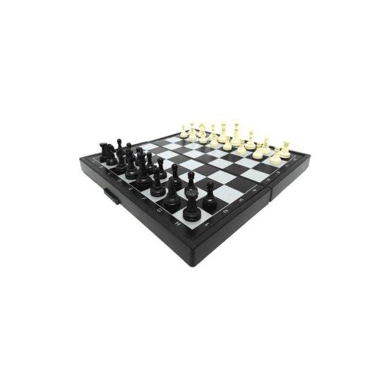 Jogo de Xadrez Magnético ELJ0214 24x24cm - Preto