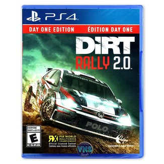 Jogo Dirt Rally 2.0 Day One Edition  PS4
