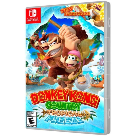 Jogo Donkey Kong Country Tropical Freeze Nintendo Switch - Incolor