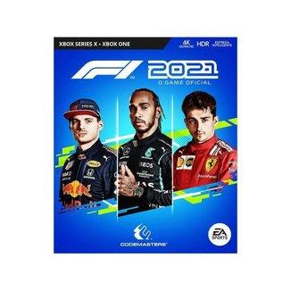 Jogo F1 2021 para Xbox One e Xbox Series X
