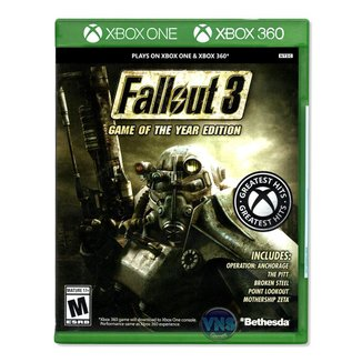 Jogo Fallout 3 Game of The Year Edition  Xbox 360 / Xbox One
