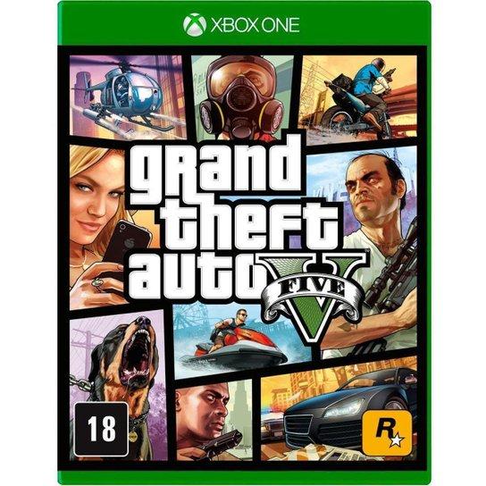 Jogo Grand Theft Auto V  XboxOne - Incolor