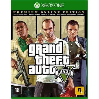 Jogo GTA V (Premium Online Edition) - Xbox One