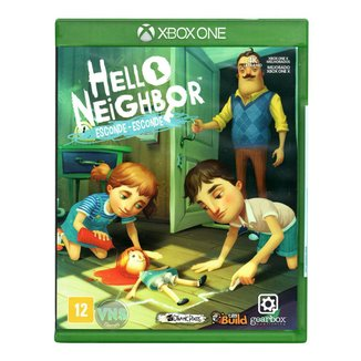 Jogo Hello Neighbor EscondeEsconde  Xbox One