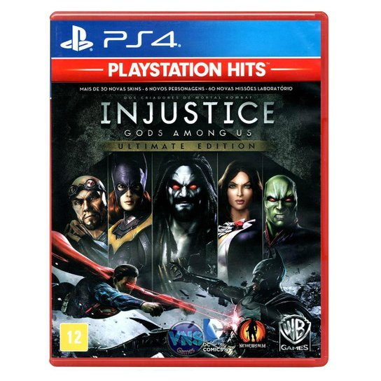 Jogo Injustice Gods Among Us  Ultimate Edition  PS4 - Incolor