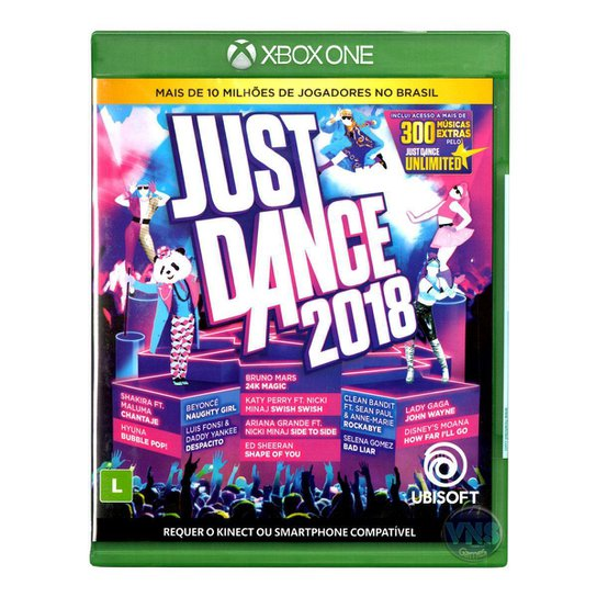 Jogo Just Dance 2018  Xbox One - Incolor