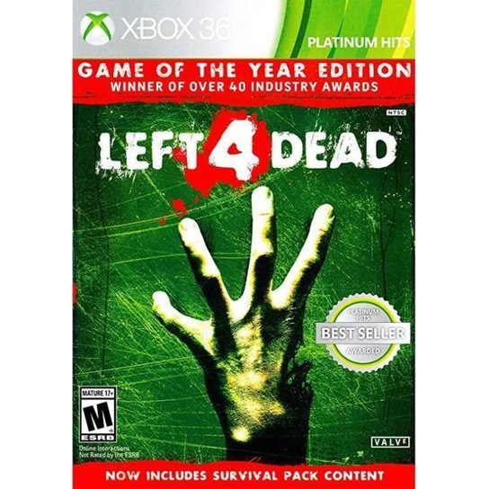 Jogo Left 4 Dead (Game Of The Year Edition)  Xbox 360 - Incolor