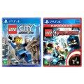 Jogo Lego  City Undercover + Jogo Lego  Marvel Vingadores   PS4