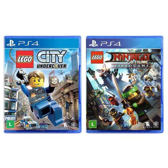 Jogo Lego  City Undercover + Jogo Lego  Ninjago   O - Incolor