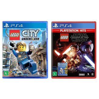 Jogo Lego  City Undercover + Jogo Lego  Star
