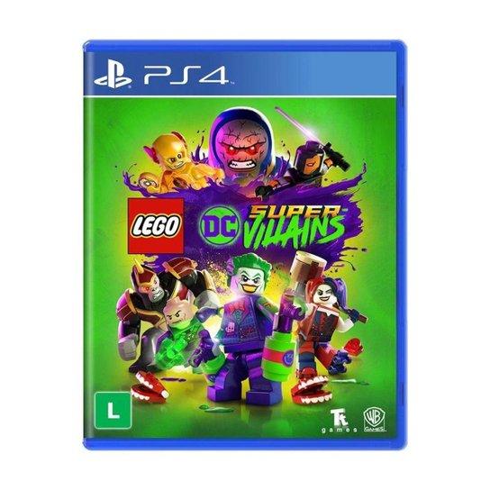 Jogo LEGO DC Super-Villains - PS4 - Incolor