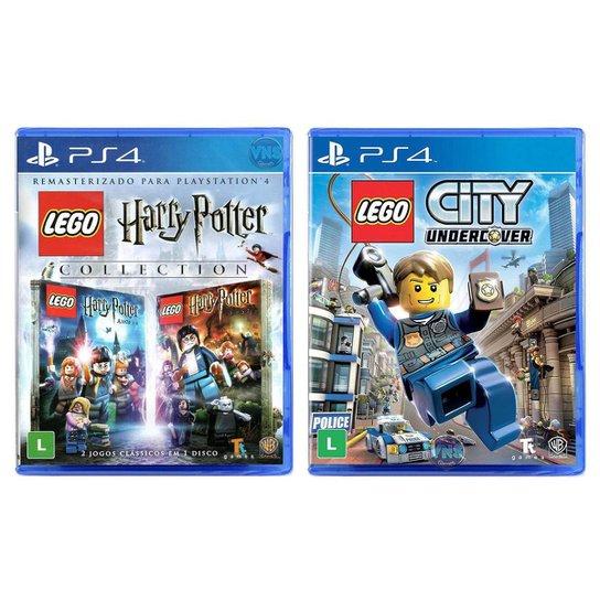 Jogo Lego  Harry Potter Collection + Jogo Lego  City Undercover   PS4 - Incolor