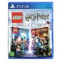Jogo Lego  Harry Potter Collection + Jogo Lego  Marvel Vingadores   PS4