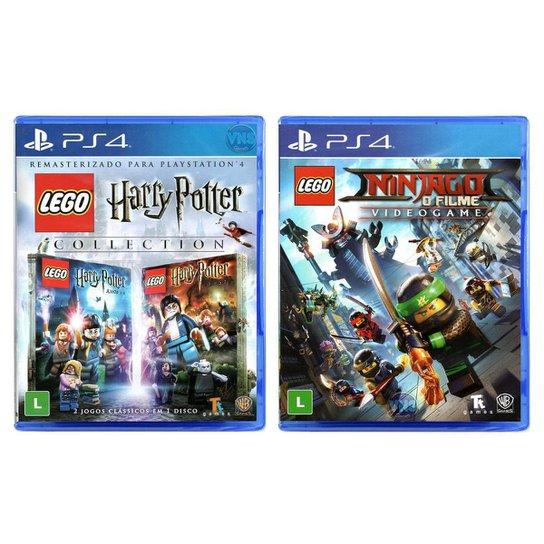 Jogo Lego  Harry Potter Collection + Jogo Lego  Ninjago O - Incolor