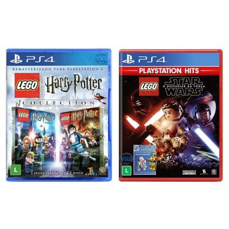 Jogo Lego  Harry Potter Collection + Jogo Lego  Star