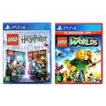 Jogo Lego  Harry Potter Collection + Jogo Lego  Worlds   PS4