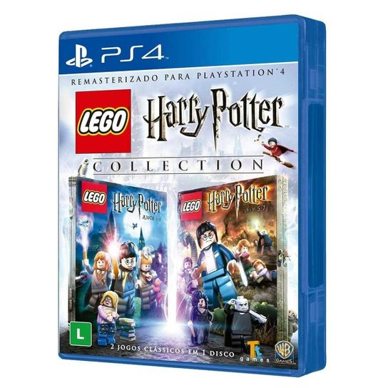 Jogo Lego Harry Potter Collection - Ps4 - Azul