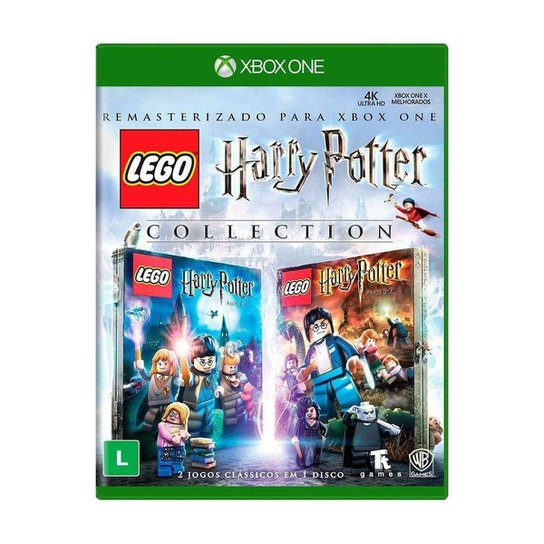 Jogo LEGO Harry Potter Collection - Xbox One - Incolor