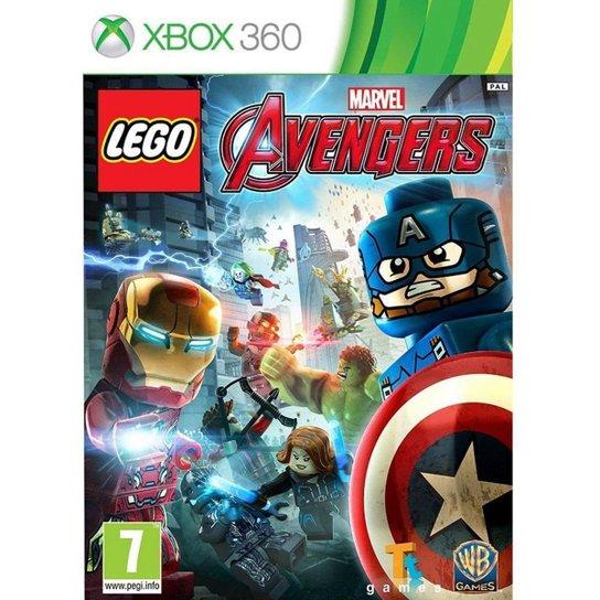 Jogo Lego Marvel Avengers  Xbox360 - Incolor