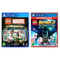 Jogo Lego  Marvel Collection + Jogo Lego  Batman 3 Beyond Gotham   PS4