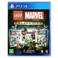 Jogo Lego  Marvel Collection + Jogo Lego  DC Super Villains   PS4
