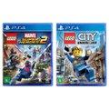 Jogo Lego  Marvel Super Heroes 2 + Jogo Lego  City Undercover   PS4