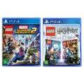 Jogo Lego  Marvel Super Heroes 2 + Jogo Lego  Harry Potter Collection   PS4