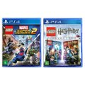 Jogo Lego  Marvel Super Heroes 2 + Jogo Lego  Harry Potter Collection   PS4