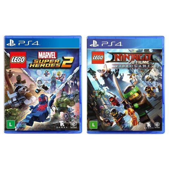 Jogo Lego  Marvel Super Heroes 2 + Jogo Lego  Ninjago   O - Incolor