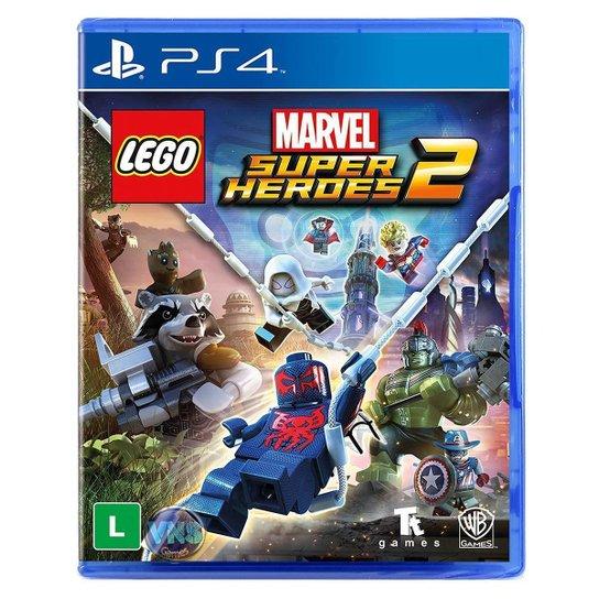 Jogo Lego  Marvel Super Heroes 2 + Jogo Lego  Worlds   PS4 - Incolor