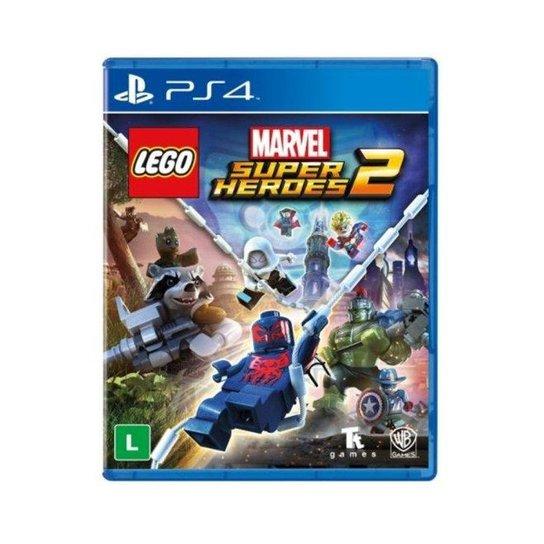 Jogo Lego Marvel Super Heroes 2 PS4 - Incolor