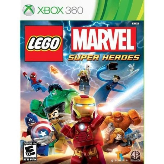 Jogo LEGO Marvel Super Heroes  Xbox 360 - Incolor