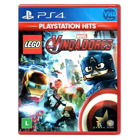 Jogo LEGO Marvel Vingadores  PS4 - Incolor