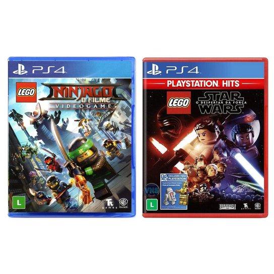 Jogo Lego  Ninjago   O Filme: Video Game + Jogo Lego  Star - Incolor