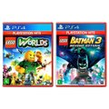 Jogo Lego  Worlds + Jogo Lego  Batman 3 Beyond Gotham   PS4