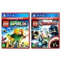 Jogo Lego  Worlds + Jogo Lego  Marvel Vingadores   PS4