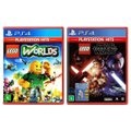 Jogo Lego  Worlds + Jogo Lego  Star