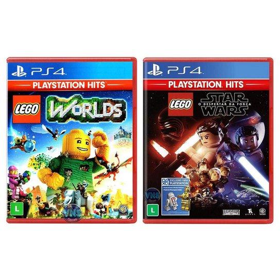 Jogo Lego  Worlds + Jogo Lego  Star - Incolor