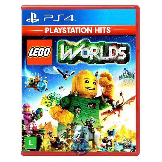 Jogo LEGO Worlds  PS4 - Incolor