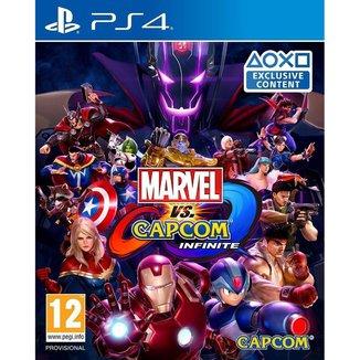 Jogo Marvel Vs Capcom Infinite  PS4