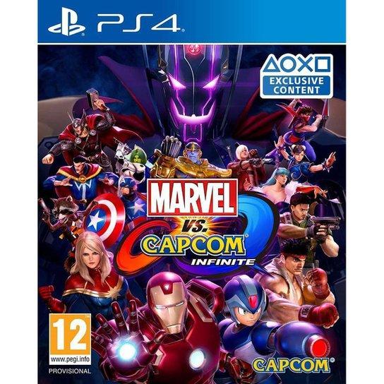 Jogo Marvel Vs Capcom Infinite  PS4 - Incolor