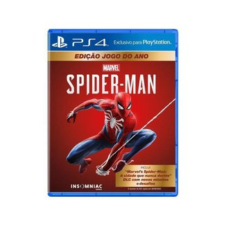 Jogo Marvels Spider-Man GOTY Edition para PS4