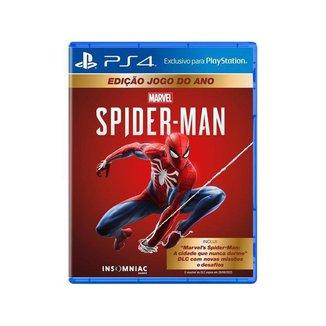 Jogo Marvels Spider-Man GOTY Edition para PS4